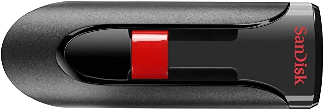 SanDisk Cruzer Glide CZ60 64GB USB 2.0 Flash Drive, Frustration-Free Packaging- SDCZ60-064G-AFFP
