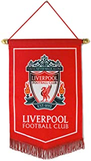 ZQfans Liverpool FC Indoor and Outdoor Flags Bar/Club/Bedroom Decoration Hanging Flags