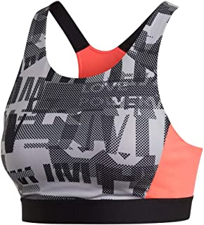 adidas Women's ULT Bra AIQ1 Sports, griglo/Print/rossen