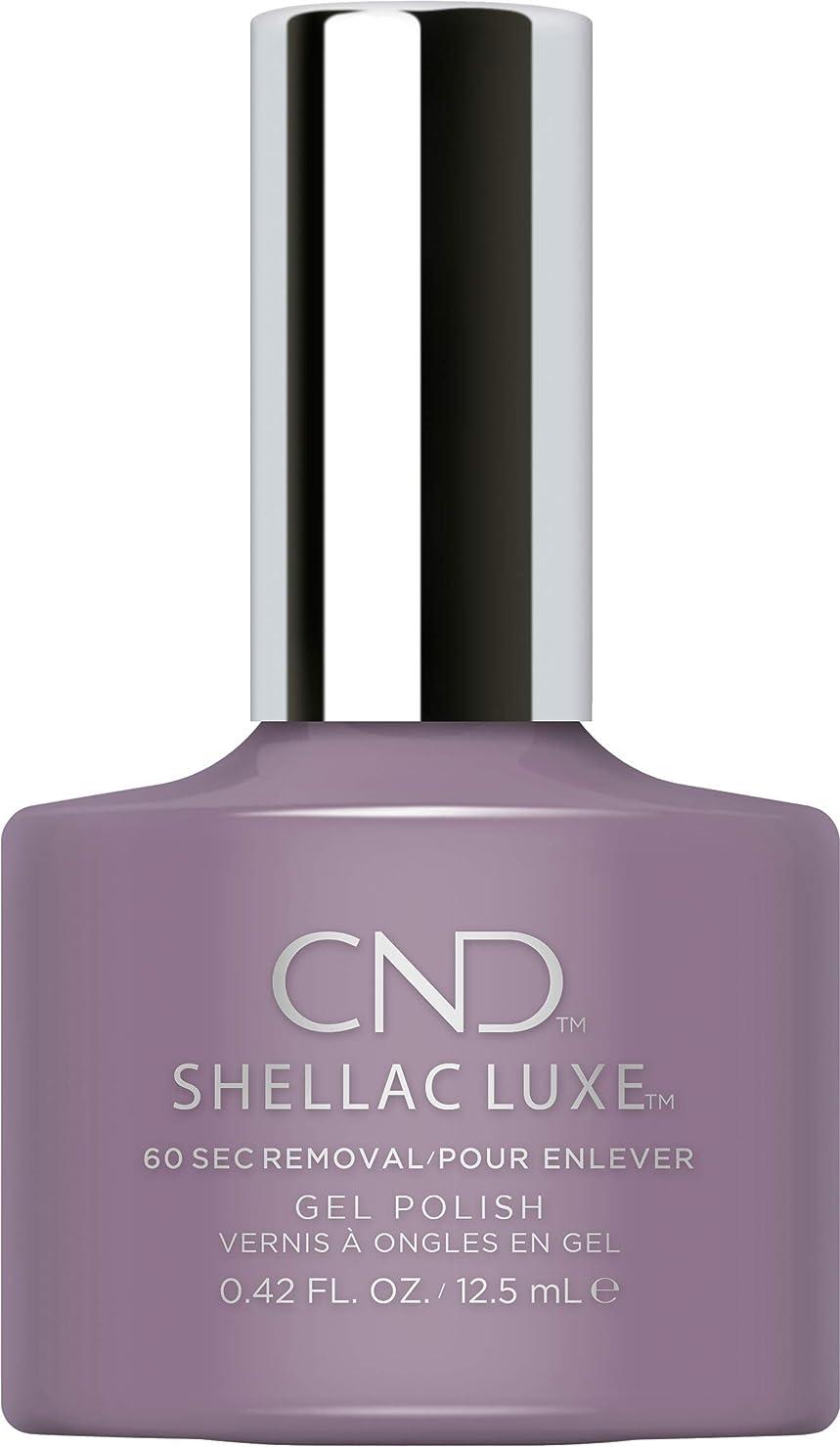 減衰プレゼン対角線CND Shellac Luxe - Alpine Plum - 12.5 ml / 0.42 oz