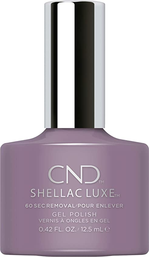 つかまえる望みレイCND Shellac Luxe - Alpine Plum - 12.5 ml / 0.42 oz