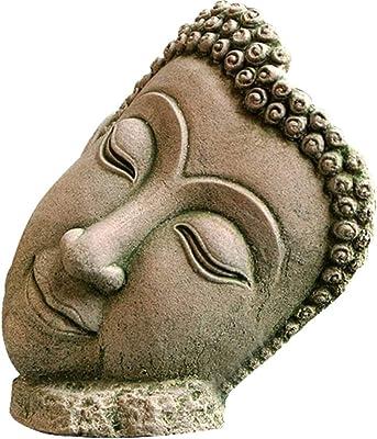 MLMHLMR Estatua de Buda Talla de Arena decoración Artesanal ...