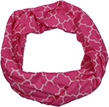 Pop Fashion Scarves for Women, Girls, Ladies, Infinity Scarf with Zipper Pocket Pattern Print Lightweight Wrap - $44.99