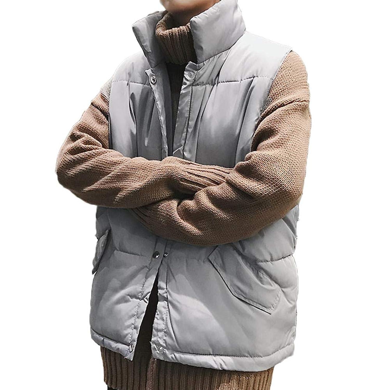 [CAIXINGYI] 冬 コットン ベスト 男性 韓 版 学生 ノースリーブ コットンコート コート メンズファッション 若者 3色 ベスト S-3XL