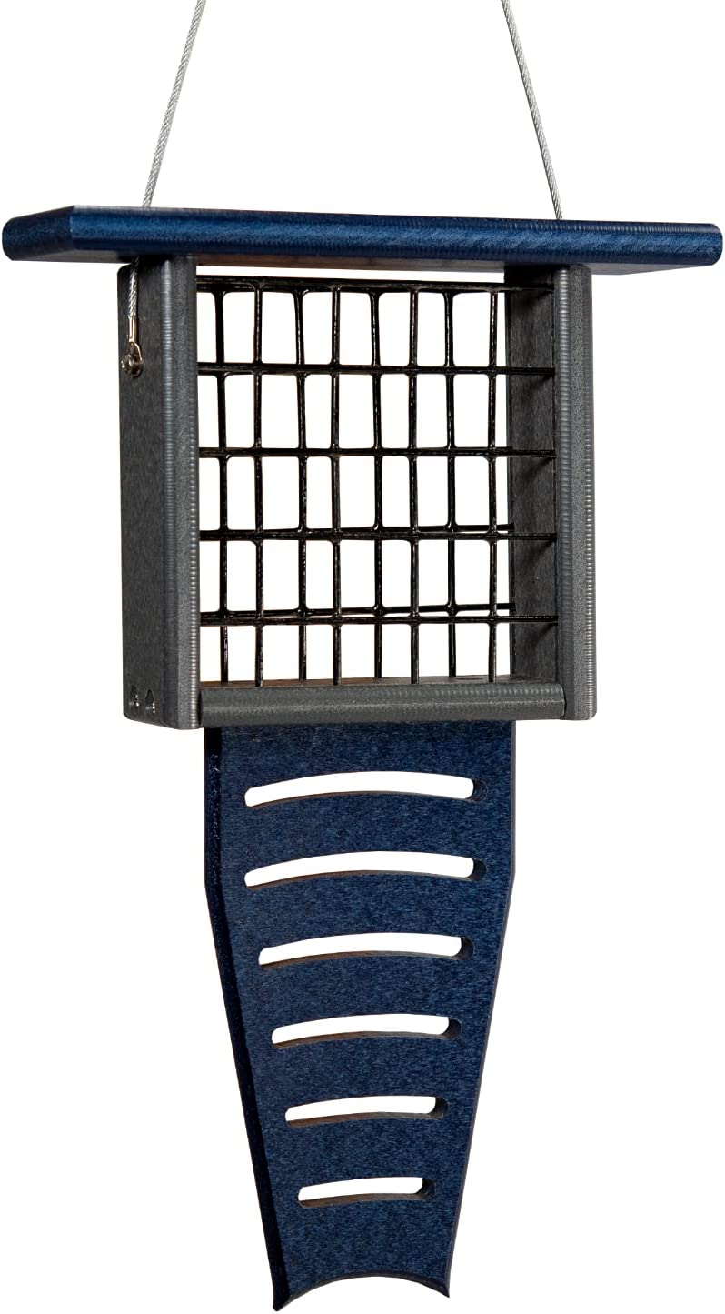 JCs Wildlife Blue Gray Recycled Poly Pro Suet Feeder Max 90% Max 44% OFF OFF Tail Lumber
