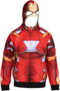Captain America, Iron Man Civil War Reversible Hoodie