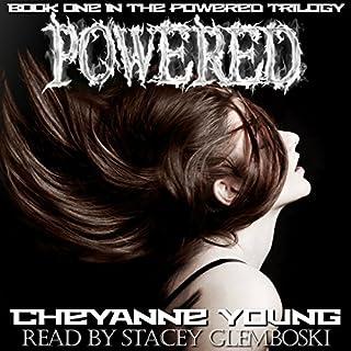 Powered audiobook cover art