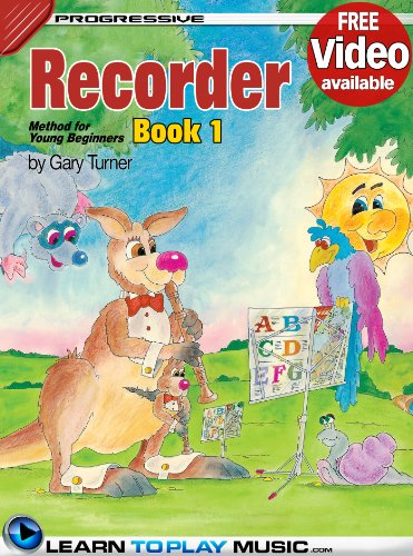 Recorder Lessons for Kids - Book 1: How to Play Recorder for Kids (Free Video Available) (Progressive Young Beginner) (English Edition)
