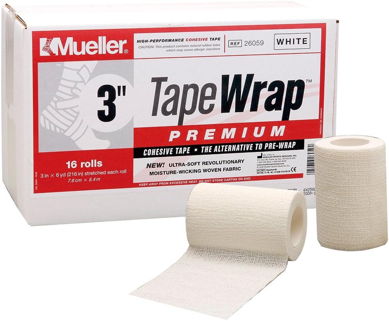 Mueller Tape Wrap Premium 3 inch White