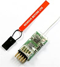 WILLOWLUCKY Spektrum 4100E DSM2 /DSMX 4-Channel Microlite Receiver for JR Spectrum/RC Plane