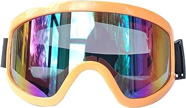 Vork Pro Off Road/ATV/UTV/Ski Goggles, Snowboard goggles bike goggles tinted AV protected (Orange)