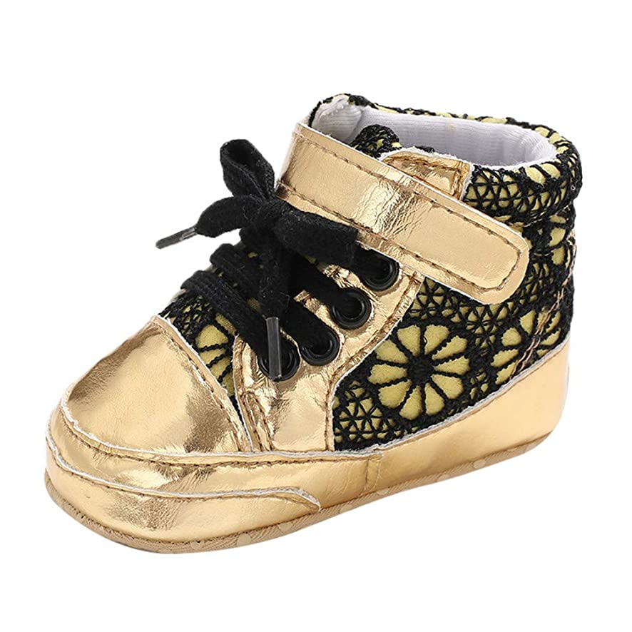 XUANOU Infant Newborn Baby Girls Boys Winter Boots Prewalker Frenulum Leather Shoes