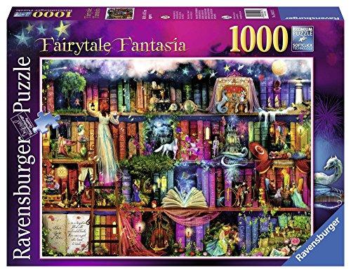 Ravensburger Puzzle, Puzzles 1000 Piezas, Biblioteca de Fantasía, Colección Fantasy, Puzzles para Adultos, Puzzle Ravensburger