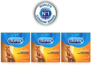 Durex Avanti Bare RealFeel Non-Latex Condom, 24 ct (Pack of 3)