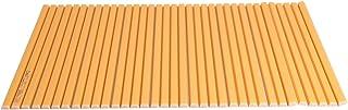 【Amazon.co.jp限定】 シャッター式風呂ふた カラーウェーブ 75×110cm オレンジ L11