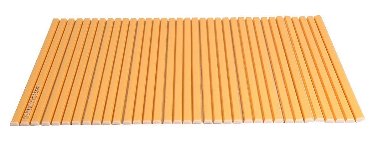 取得する摂氏度ピアニスト【Amazon.co.jp限定】 シャッター式風呂ふた カラーウェーブ 70×110cm オレンジ M11