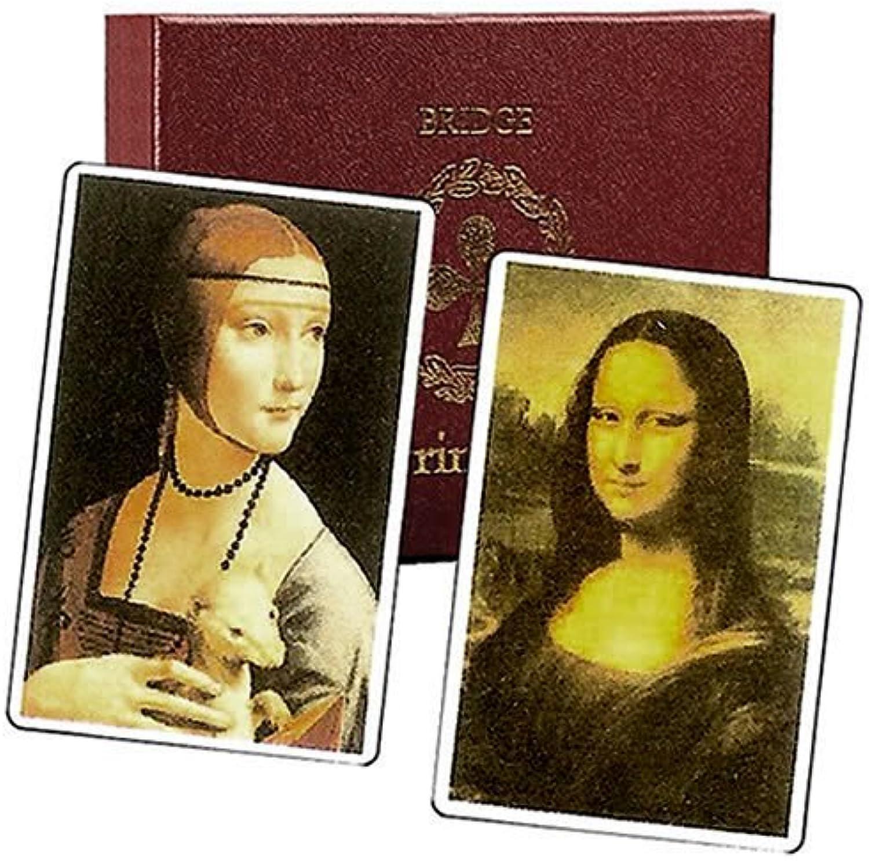 Cartamundi - 2 x da Vinci Playing Cards Luxury Box