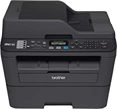 Brother International EMFCL2707DW Brother Certified Refurbished EMFC-L2707DW-(MFC-L2707DW)-Monochrome Laser All-in-One with Wireless Networking, Black