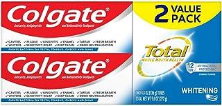 ژل Colgate Total Whitening Toothpaste، 4. 8 اونس - 2 بسته
