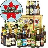 Frohe Weihnachten / 24 Biere der Welt und DEU/Geschenke Männer Weihnachten