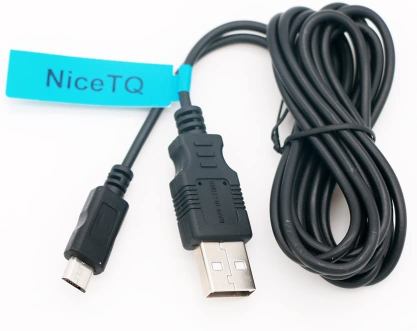 NiceTQ Replacement USB Data Sync Power Charging Cord Cable for Kodak SCANZA Digital Film & Slide Scanner RODFS35