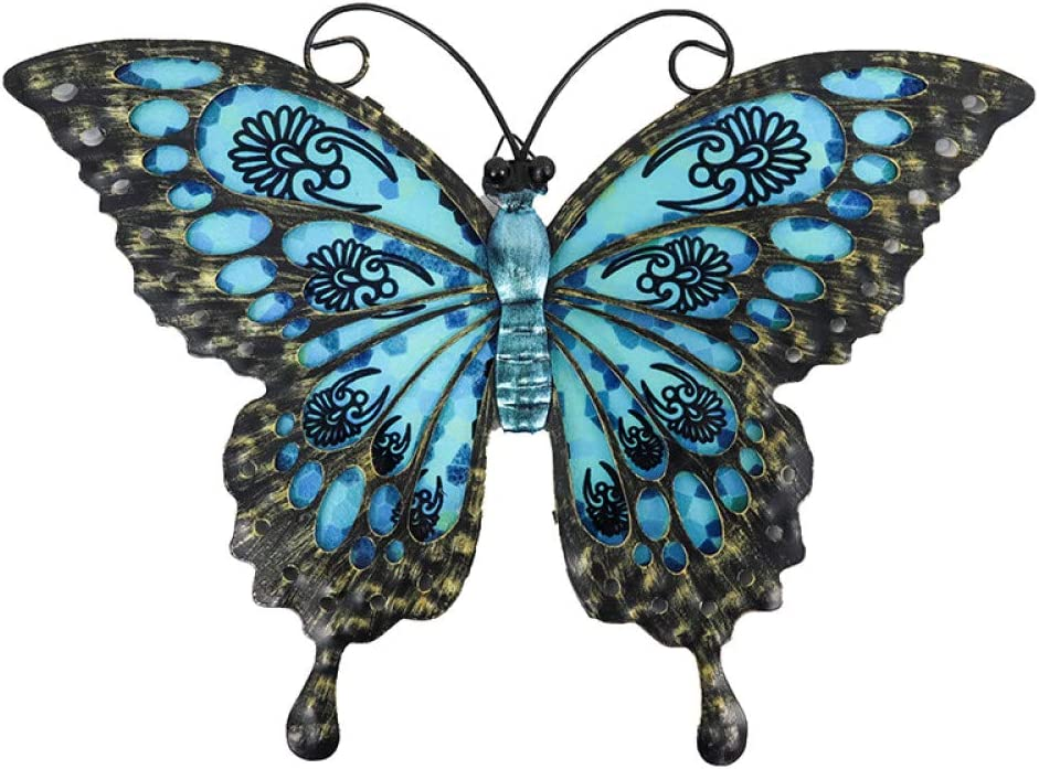 Garden Max 56% OFF Blue Butterfly of Wall Cash special price Decoration and Home Out for