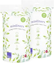 Bambino Mio, Mioliners (Nappy Liners), 2 Pack