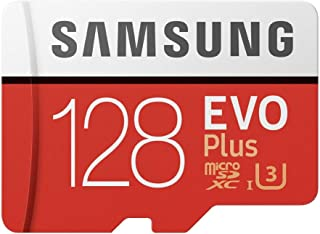 Samsung Mobile UKMB-MC128GA/EU Memory EVO Plus 128 GB Micro SD Card with Adapter