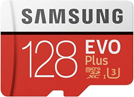 Samsung 128GB EVO Plus Class 10 Micro SDXC with Adapter...