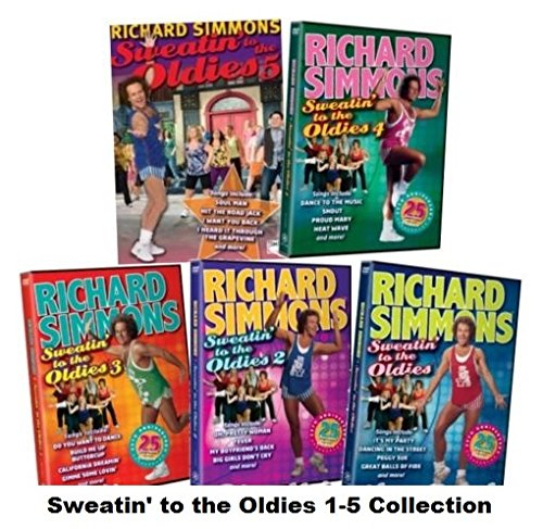 Richard Simmons: Sweatin' to the Oldies - The Complete Collection (Volumes 1-5)