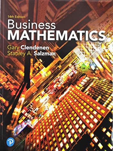 Business Mathematics Plus MyLabMath -- 24 Month Title-Specific Access Card Package (14th Edition)