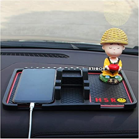 HSR Multifunction Phone GPS Holder Anti-Slip Silicone Pad and Car Mobile Holders for Car Dashboard