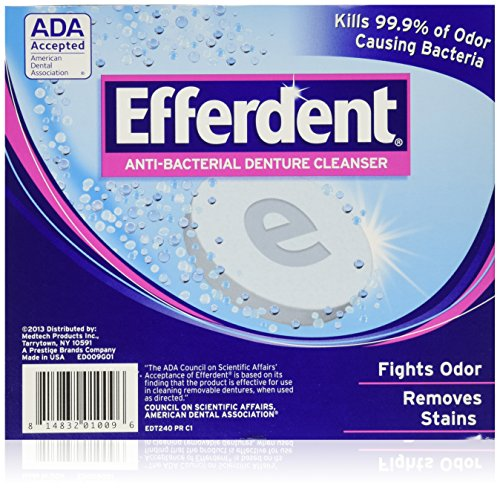 Efferdent Denture Cleanser - 252 Tablets