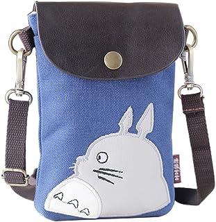 KKbag Wildforlife Handytasche, bestickt, aus Segeltuch, Crossbody-Tasche