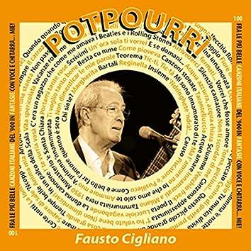 """Potpourri - 100 fra le più belle canzoni italiane del '900 in """"Fantasie"""" (Voce & chitarra)"""