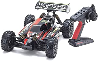 Kyosho 33012T2B Inferno Neo 3.0 Readyset Ready to Run, Type 1, 1/8 Nitro 4WD Rally Sport Buggy, Red