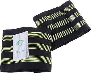 Perfk 2PCS Reflective Cycling Running Trousers Pants Band Leg Strap Stripes