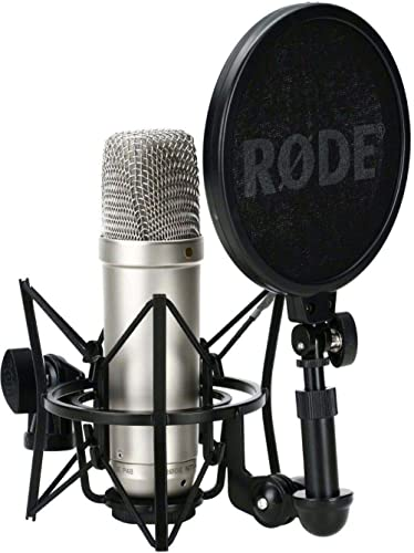 Microphone à condensateur à large membrane Rode NT-1A Microphone à condensateur à large membrane avec capsule cardioï...
