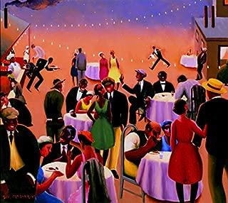 Archibald Motley Barbecue Circa 1934 : Art Print