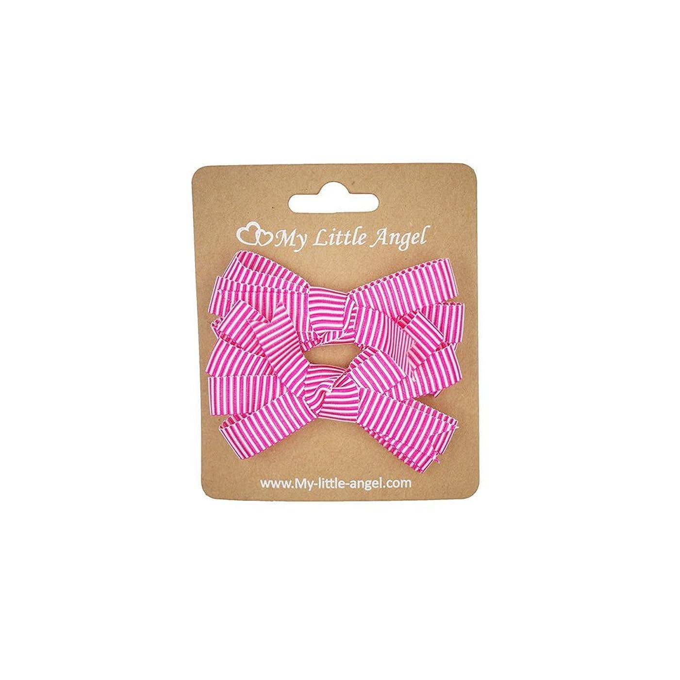 測定期限切れ福祉MLA-GIRL-047 Hot Pink With White Stripe