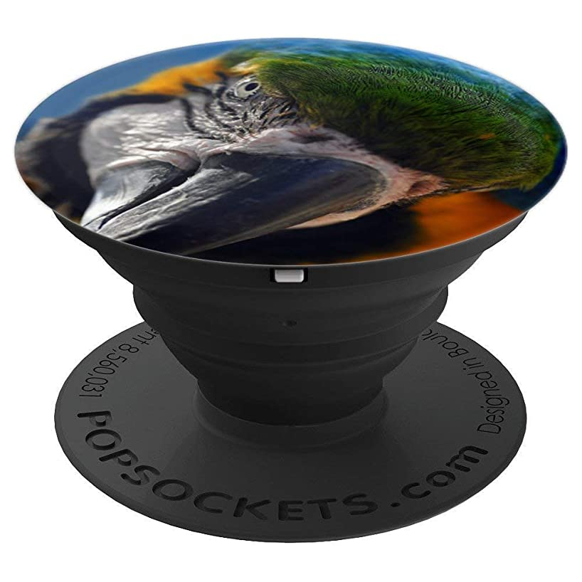 Cute Wild Bird Parrot Love Nature Animals Men Women Gift - PopSockets Grip and Stand for Phones and Tablets