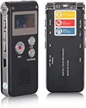 ACEE DEAL Digital Voice Recorder 8GB, Audio Voice Activated MP3 Player with Android USB..
