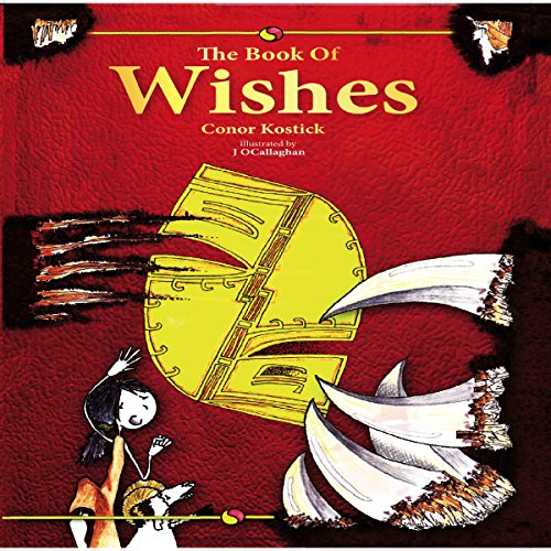 The Book of Wishes audiobook cover art