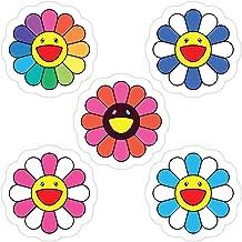 Sherai Fran mall Takashi Murakami Happy Flower 5 Pack Stickers (3 Pcs/Pack)