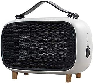 WUYI Calefactor Portátil Eléctrico Mini Calefactor Silencioso con Calentador Rápido de Cerámica PTC con Viento Calor Y Natural, Ventilador Calentador, Ahorro de Energía, para Baño Oficina Dormitorio