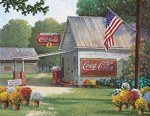 Springbok Puzzles Coca-Cola Country General Store Jigsaw Puzzle (500Piezas)