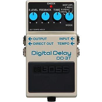 BOSS Digital Delay Guitar Effect Pedal (DD-3T)