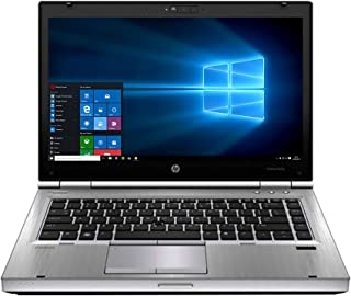 Renewed EliteBook laptop 8470P 14-inch Intel Core i5-3320M 2.6GHz 4GB 320G HDD with activated microsoft office and Windows...