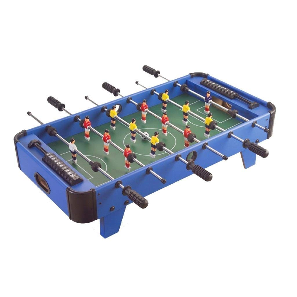 LYATW Juguetes de diversión Familiar de Blue Futbolín máquina de ...