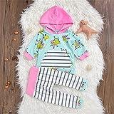 QTONGZHUANG Baby Set_Amazon Nuevo bebé Set Floral, Color de la Imagen, 90cm
